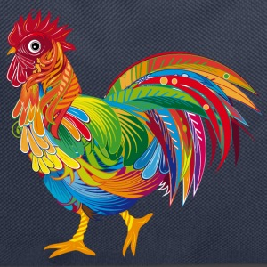 An ornately decorated rooster Bags & Backpacks - Backpack