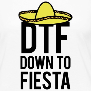 DTF DOWN TO FIESTA Long Sleeve Shirts - Women's Premium Longsleeve Shirt