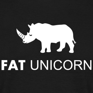 Fat Unicorn T-Shirts - Männer T-Shirt