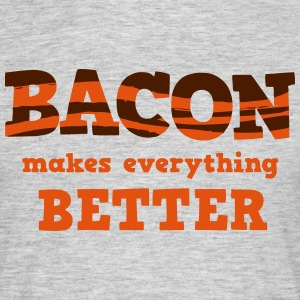 BACON makes everything better! T-skjorter - T-skjorte for menn