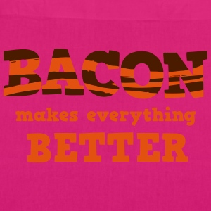 BACON makes everything better! Bags & Backpacks - EarthPositive Tote Bag