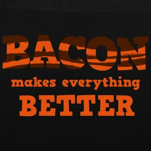 BACON makes everything better! Tasker & rygsække - Mulepose