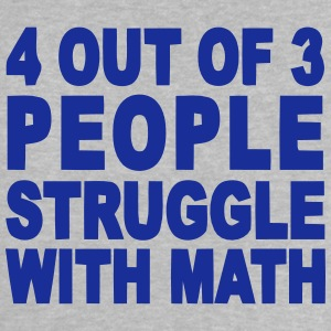 4 out of 3 hate math Skjorter - Baby-T-skjorte