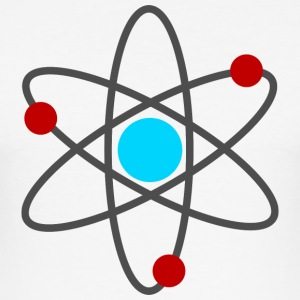 An Atom T-Shirts - Men's Slim Fit T-Shirt