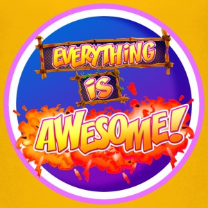 Everything is awesome!! - Kids' Premium T-Shirt