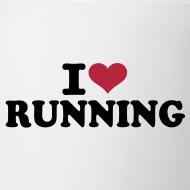 Motiv ~ Coffee Mug: I love running