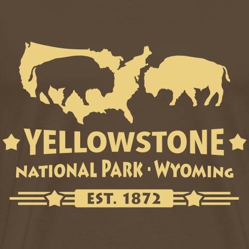 Buffalo Bison Büffel Yellowstone Nationalpark USA