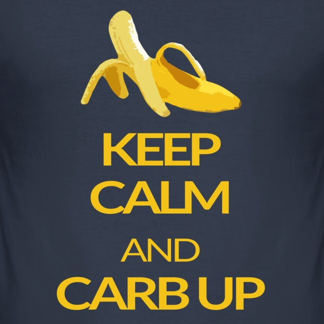 KEEP CALM and CARB UP boys slim fit
