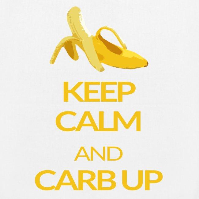 KEEP CALM and CARB UP bag