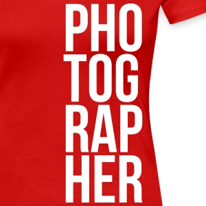 Photographer T-Shirts - Frauen Premium T-Shirt