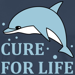 Cure for  life T-shirts - Herre premium T-shirt