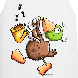 Funny Duck With Saxophone  Aprons - Cooking Apron