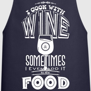 I cook with wine  Aprons - Cooking Apron