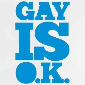 GAY IS OK - SCHWUL IS OK Skjorter - Baby-T-skjorte