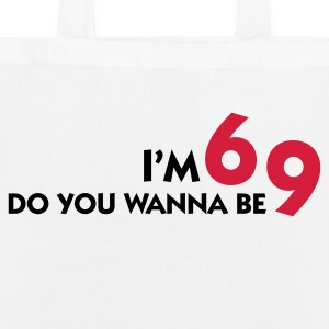 I am 6 Want to be my 9? Bags & Backpacks - EarthPositive Tote Bag