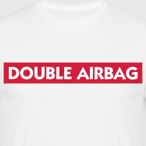 Deux sacs gonflables Tee shirts - T-shirt Homme