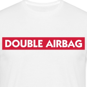 Dual airbags T-shirts - Mannen T-shirt