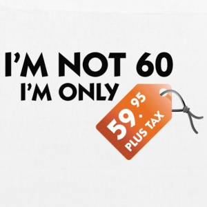 I m not 60. I'm only 59,99 € plus tax Bags & Backpacks - EarthPositive Tote Bag
