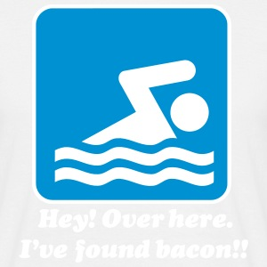 I've found bacon! T-skjorter - T-skjorte for menn