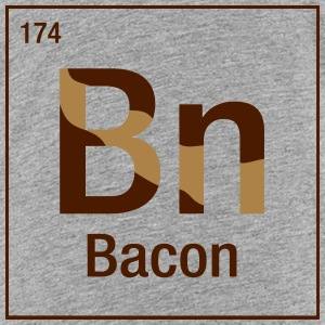 Bacon periodic table Shirts - Teenage Premium T-Shirt