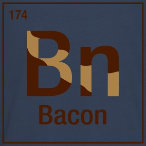 Bacon periodic table Long Sleeve Shirts - Teenagers' Premium Longsleeve Shirt