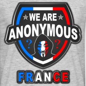 we are anonymous france Tee shirts - T-shirt Homme