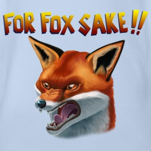 For Fox Sake!! T-Shirts - Baby Bio-Kurzarm-Body