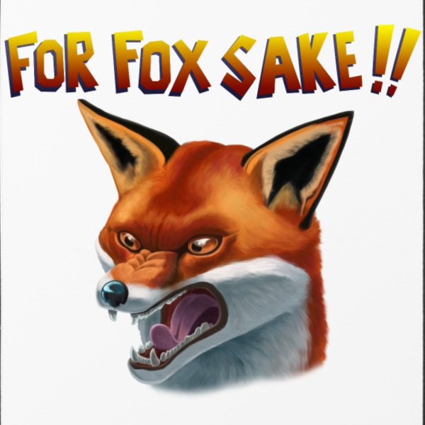 For Fox Sake!! Mobil- & tablet-covers - iPhone 4/4s Hard Case