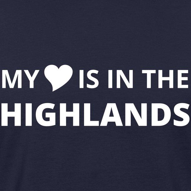 Männer Bio-T-Shirt Highlands