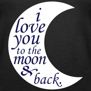 LOVE YOU TO THE MOON Tops - Women's Premium Tank Top
