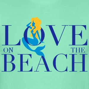 LOVE ON THE BEACH - T-shirt Homme