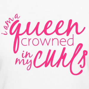 CURL QUEEN T-shirts - Organic damer