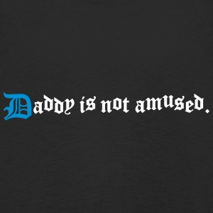 daddy is not amused  Long Sleeve Shirts - Kids' Premium Longsleeve Shirt