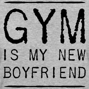 THE GYM IS MY NEW FRIEND T-shirts - Vrouwen Bio-T-shirt