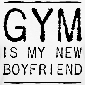 THE GYM IS MY NEW FRIEND Magliette - T-shirt ecologica da donna