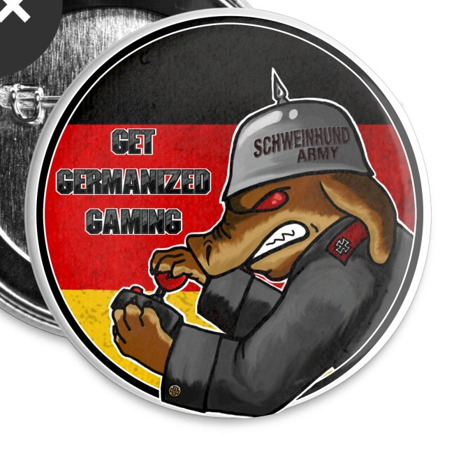 Schweinehund Army Buttons