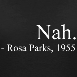 ROSA PARKS T-Shirts - Women's V-Neck T-Shirt