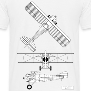 SPAD SVII 3 Vues Tee shirts - T-shirt Homme