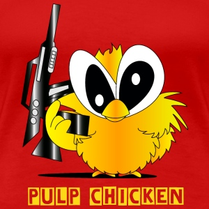 Pulp chicken - Frauen Premium T-Shirt