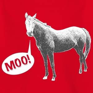 Moo Horse for Kids - Kids' T-Shirt