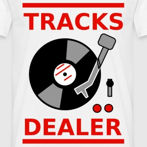 tracks dealer V T-shirts - Herre-T-shirt