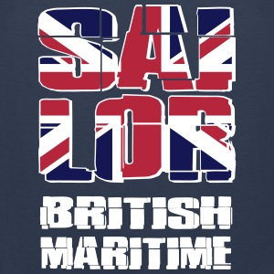 UK Maritime Sailor Tank Tops - Herre Premium tanktop