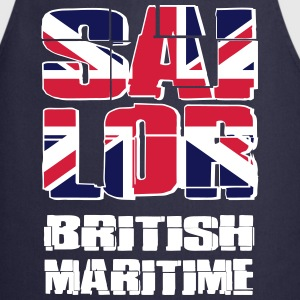 UK Maritime Sailor Kookschorten - Keukenschort