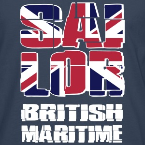 UK Maritime Sailor Long sleeve shirts - Men's Premium Longsleeve Shirt
