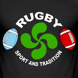 basque sport and tradition 04 Tee shirts - Tee shirt près du corps Homme
