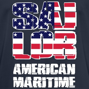 USA Maritime Sailor Camisetas - Camiseta hombre transpirable