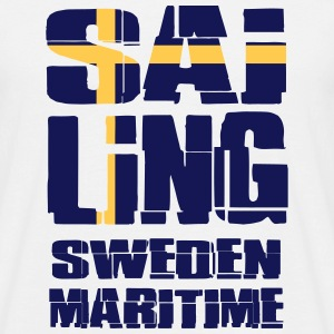 Sweden Maritime Sailing T-Shirts - Men's T-Shirt