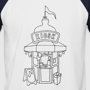Kiosk in Lissabon T-Shirts - Men's Baseball T-Shirt