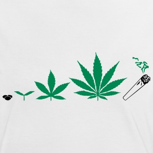 Cannabis development T-Shirts - Frauen Kontrast-T-Shirt