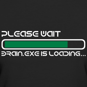 BRAIN IS LOADING Tee shirts - T-shirt Bio Femme